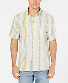 Tommy Bahama Men's Tracks to Paradise Silk Camp Shirt