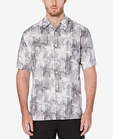 Cubavera Men'a Tropical Palm-Print Shirt