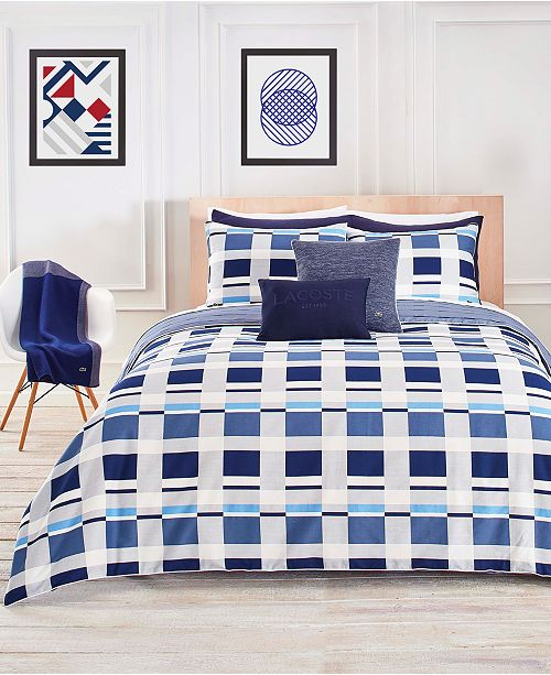 Lacoste Home Lacoste Vars Reversible Bedding Collection