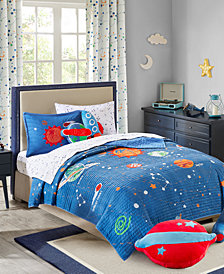 Urban Dreams Stellar Space 100% Cotton Quilt Mini Set Twin, Created for Macy's