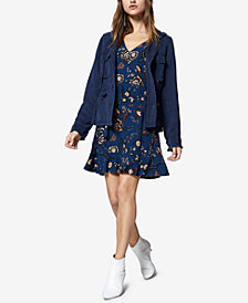 Sanctuary Harvest Moon Ruffled Floral-Print Dress