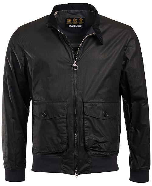 Men's Hagart Waxed-Cotton Jacket