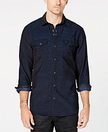 I.N.C. Men's Calban Corduroy Shirt, Created for Macy's