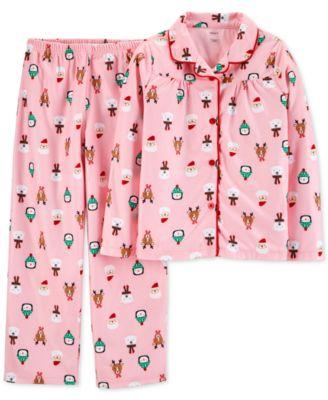 Carters Girls 2-Piece Pajamas