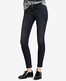 Levi's® 711 Studded Zip-Detail Ankle Skinny Jeans