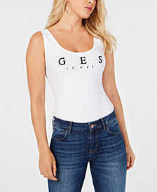 GUESS Originals Sleeveless Logo Bodysuit