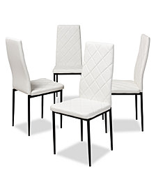 Blaise Dining Chair (Set Of 4), Quick Ship