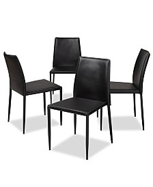 Pascha Dining Chair (Set Of 4), Quick Ship
