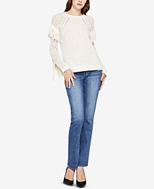 BCBGeneration Fringe-Trim Sweater