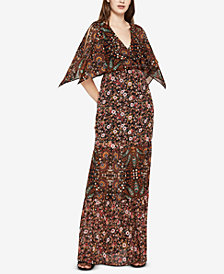 BCBGeneration Split-Sleeve Maxi Dress