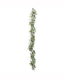 Vickerman 6' Artificial Green Olive Hill Garland