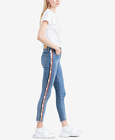 Levi's® Limited 721 Side-Tape Skinny Jeans, Created for Macy's
