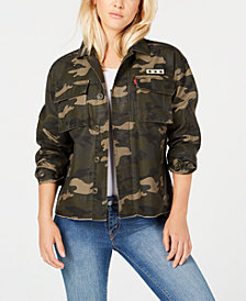 Levi's® Cotton Camo-Print Jacket