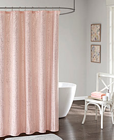 "Intelligent Design Adele 72"" x 72"" Printed Shower Curtain"