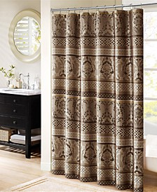 "Bellagio 72"" x 72"" Jacquard Shower Curtain"