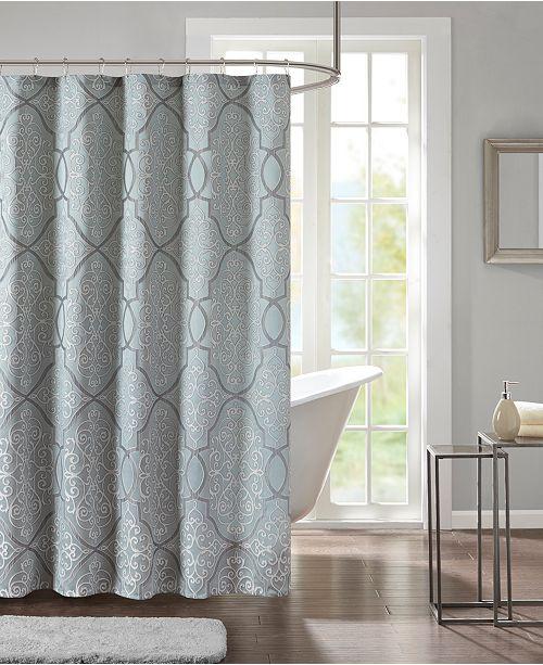 Madison Park Lavine 72 X 72 Jacquard Shower Curtain Reviews