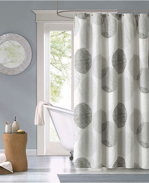 Madison Park Knowles 72 X 72 Shower Curtain Shower Curtains