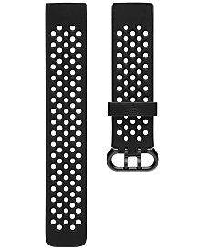 Fitbit Charge 3 Black Silicone Strap