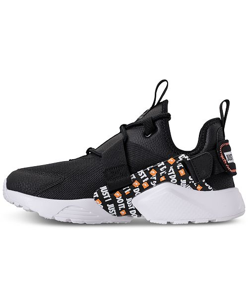 ... Nike Women s Air Huarache City Low Premium Just Do It Casual Sneakers  from Finish ... 412edf614