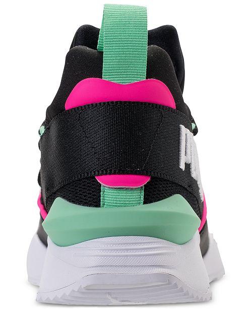 9d9e3fddc3c2da Puma Women s Muse Maia Varsity Casual Sneakers from Finish Line ...