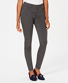 Charter Club Petite Ponte Skinny Pants, Created for Macy's
