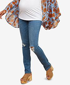 Motherhood Maternity Straight-Leg Jeans