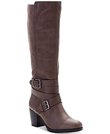 Style & Co Jomaris Block-Heel Boots, Created For Macy's