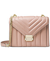 MICHAEL Michael Kors Whitney Quilted Leather Shoulder Bag 2f4e7edb96