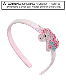 On the Verge Little & Big Girls Embellished Unicorn Headband