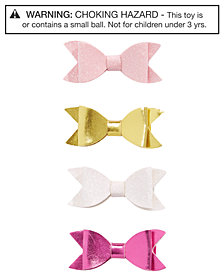 On the Verge Little & Big Girls 4-Pk. Bow Hair Clips