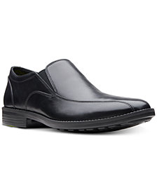 Bostonian Men's Birkett Step Dress Bike-Toe Slip-Ons