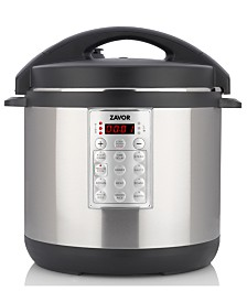 ZAVOR Select 8-Qt. Electric Pressure Cooker/Rice Cooker