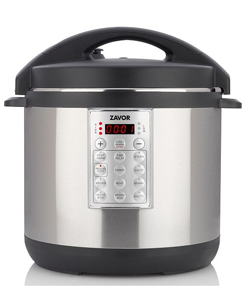 Select 8 Qt Electric Pressure Cooker Rice