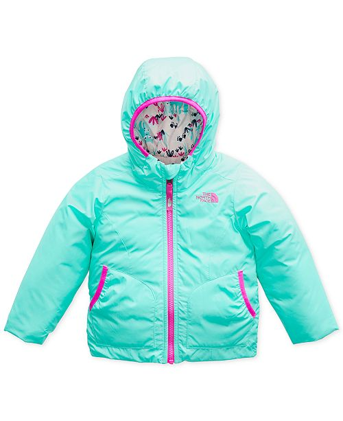 The North Face Toddler Girls Hooded Reversible Perrito Jacket ... e1b012355