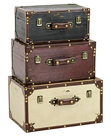 Torrance Wood Trunks (Set of 3)