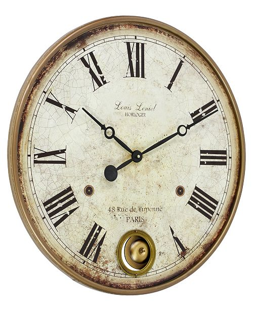 Home Decor Stores Raleigh Nc: Aspire Home Accents Raleigh Pendulum Wall Clock & Reviews
