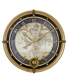 Ramona Old Map Wall Clock