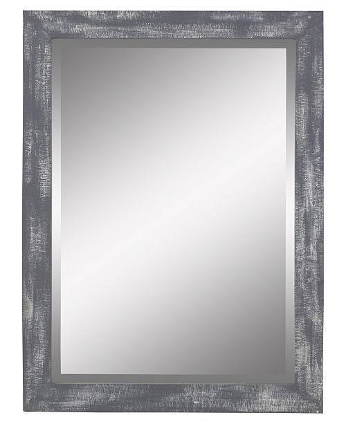 Aspire Home Accents Morris Wall Mirror - Gray 40 x 30