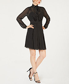 Anne Klein GGT Ruffle Dress