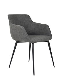 Ronda Arm Chair Gray-Set Of Two