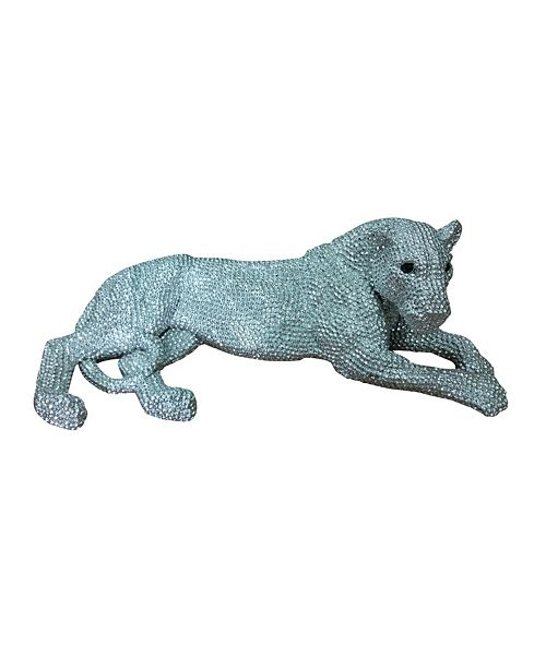 Moe's Home Collection Panthera Statue Small Silver