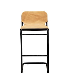 Baker Bar Stool Tan-Set Of Two