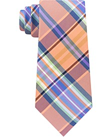 Men's Plaid Silk Tie