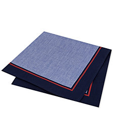 Tommy Hilfiger Men's Solid Pocket Square
