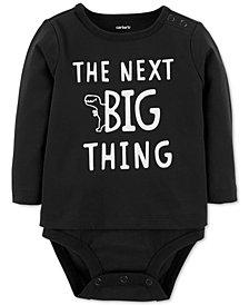 Carter's Baby Boys Next Big Thing-Print Cotton Bodysuit