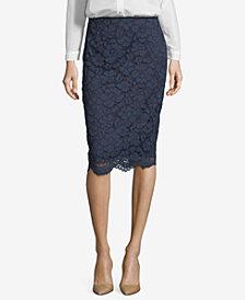 ECI Lace Pencil Skirt