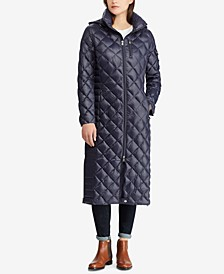 Maxi Packable Quilted Down Jacket