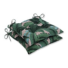 Swaying Palms Capri Wrought Iron Seat Cushion, Set of 2