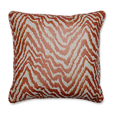 "Sleek Spice 16.5"" Throw Pillow"