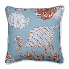 """Cape Cod Reef 16.5"""" Throw Pillow"""